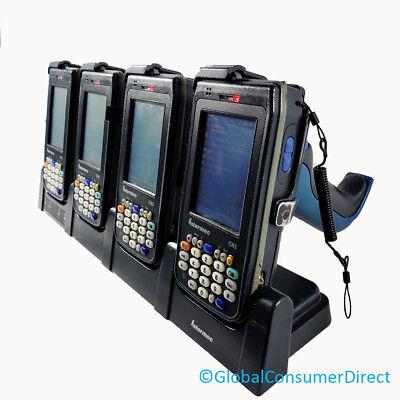 Lot Of 4x Intermec Cn3 1d2d Laser Barcode Scanner Wifi Pda Handles Cradle