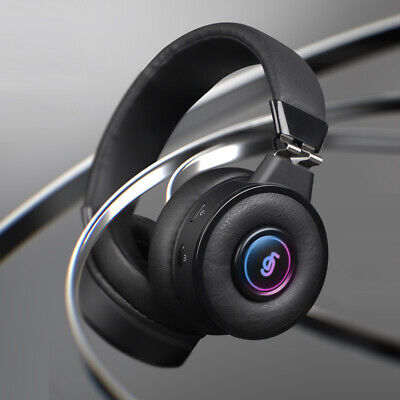 Bluetooth LED Headphone Game Headset with Microphone