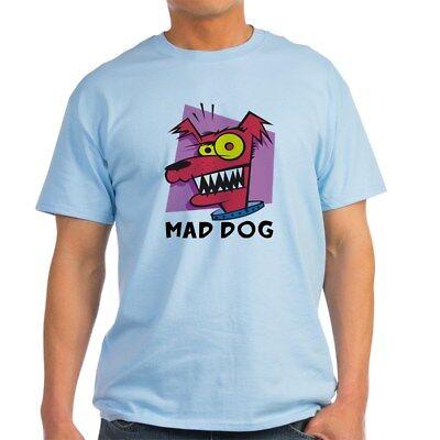 CafePress Mad Dog Light T Shirt 100% Cotton T-Shirt (253962522) New Mad Dog