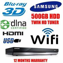 SAMSUNG BD-E8500A 3D BLU-RAY PLAYER + 500GB HDD PVR Built in WiFi North Bondi Eastern Suburbs Preview