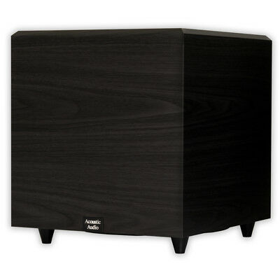 "Acoustic Audio PSW-12 Home Theater Powered 12"" Subwoofer 500 Watts Surround"