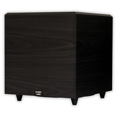 "Acoustic Audio PSW-12 Home Theater Powered 12"" Subwoofer 500"