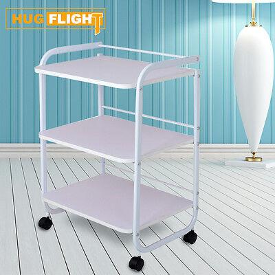 Beistelltisch Arbeitswagen Kosmetikwagen Gerätewagen Roll-Regal Salon Spa CE