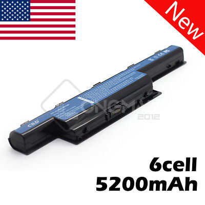 New 5200mAh Laptop Battery for Acer Aspire 4741 5742 5742G 5742Z AS10D31 AS10D41