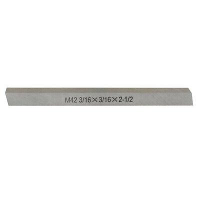M42 Cobalt Steel Square Lathe Tool Bits Milling Machine 316 X 316 X 2-12