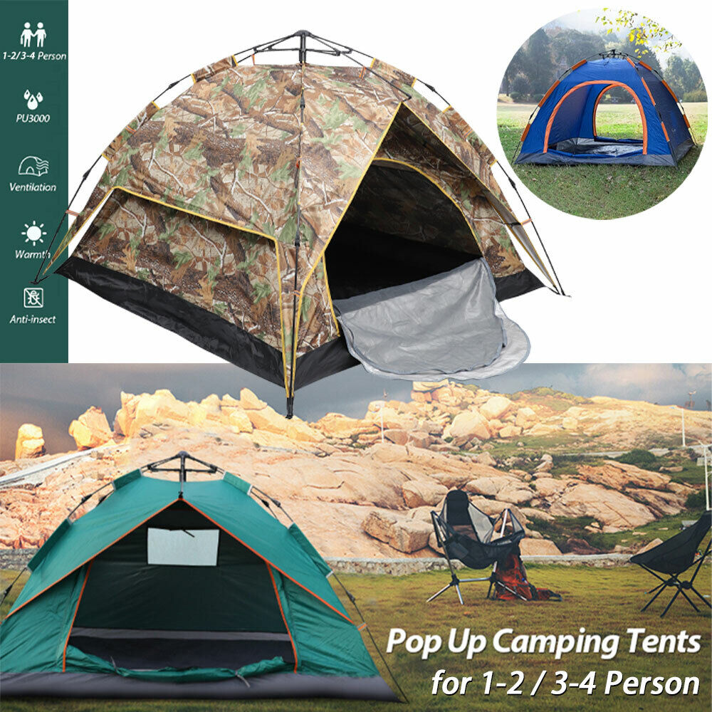 2 4 person outdoor camping family pop
