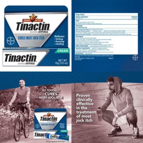 Tinactin Jock Itch Antifungal Cream for Body Fungus Treatmen