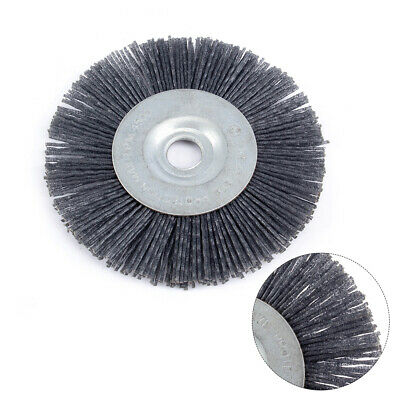 Corrugated Stainless Steel Wire with 1//4 inch Shank 80 mm Wire Wheel Brush Bench