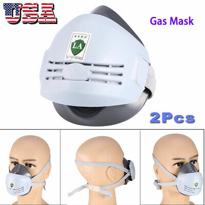 Us Universal Industrial Gas Chemical Anti-dust Paint Respirator Face Sprays Mask