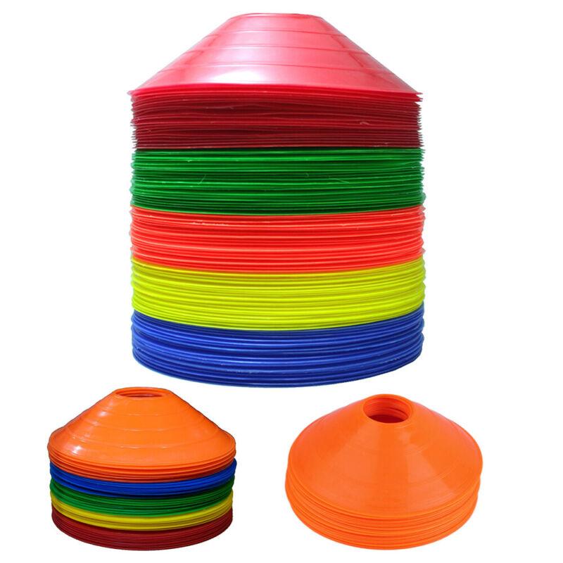 Disc Cones 50 set Training Sport Football Soccer Training Agility Field Marking