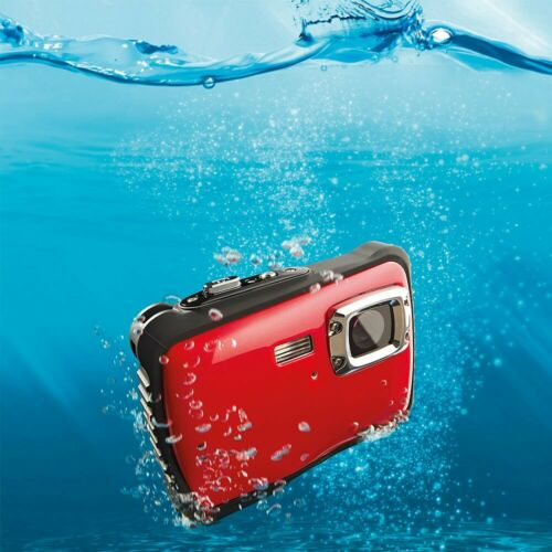 5MP+Compact+3m+Waterproof+Digital+Action+Camera+Micro+SD