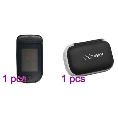 Finger Tip Pulse Oximeter Blood Oxygen Meter Spo2 Heart Rate Monitor With Case