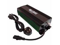2 x Lumii Digita 600w Ballast + Bulb, Shade and Hangers + Rhino Filter