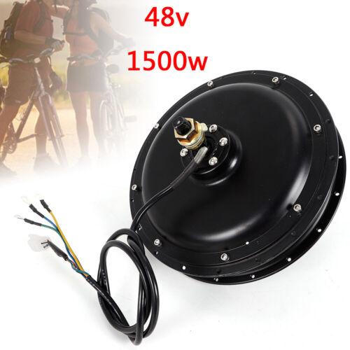 1500W Brushless Electric Bike Hub Motor Rear Wheel Electric