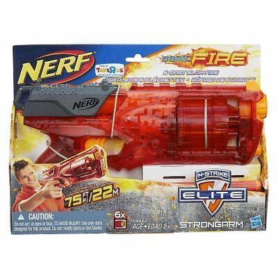 NERF N-STRIKE ELITE EXCLUSIVE SONIC FIRE DART GUN - STRONGARM - RARE!