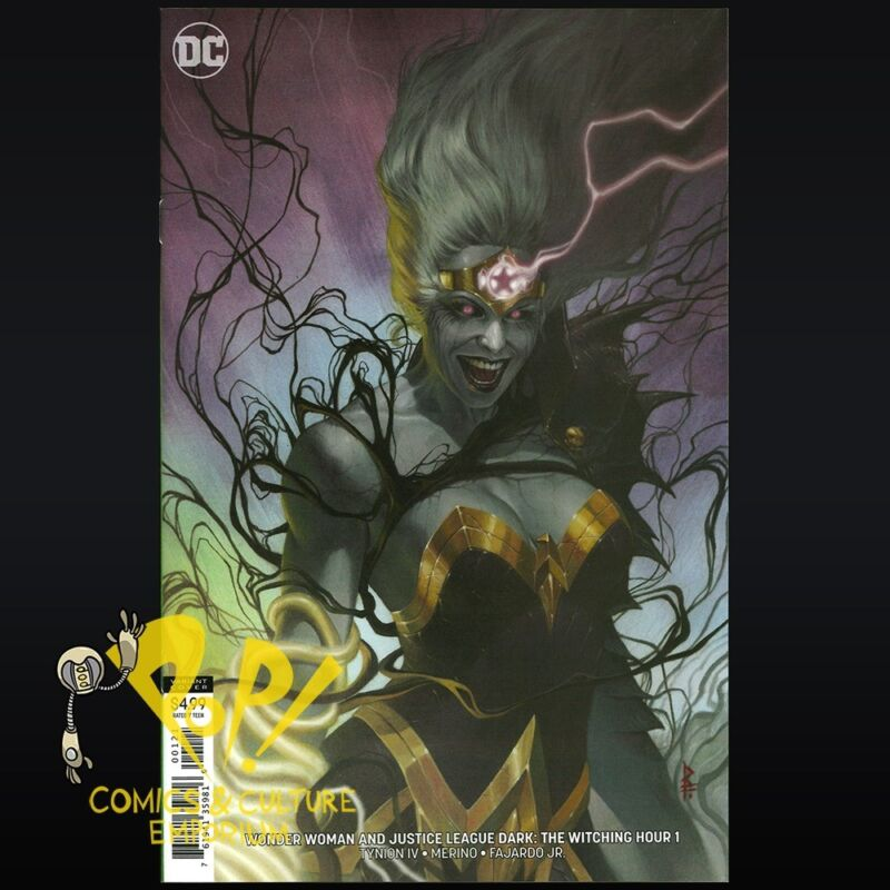WITCHING HOUR #1 VARIANT COVER STOCK IMAGE JUSTICE LEAGUE DARK AND WONDER WOMAN
