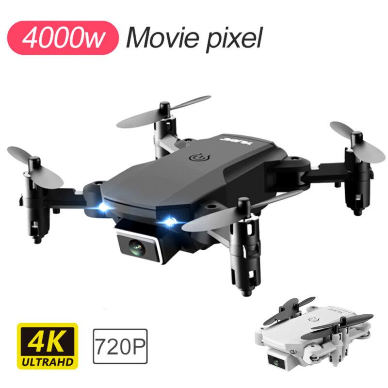 Faltbar WIFI FPV Drohne mit 4K 1080P HD Kamera Quadrocopter Mini Selfie RC Drone