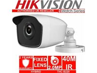 Hikvsion Hiwatch THC-B220 HD 2mp 1080p TVI-AHD-CVI-CVBS EXIR Bullet Camera IR 40m IP66
