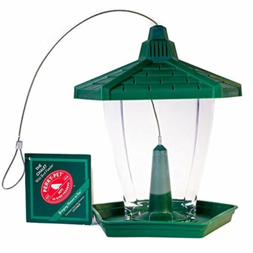 Perky-Pet Chalet Wild Bird Feeder, 1.25 Pounds