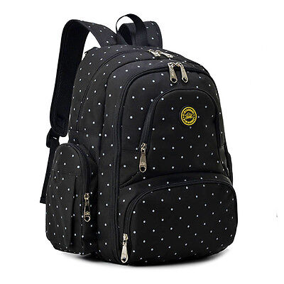 Backpack Insulated Bag - Oxford Baby Diaper Bag Nappy Backpack Change Pad Insulation Pocket Fit Stroller