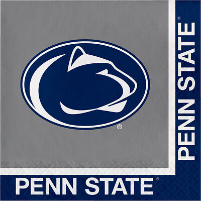 40ct Penn State University 2-ply Premium Lunch Napkins college football Party - Penn State Party Supplies