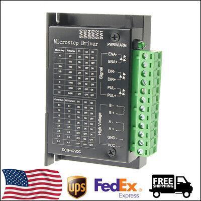 1pcs Tb6600 4a 9-42v Controller Board Stepper Motor Driver For 3d Cnc Printer