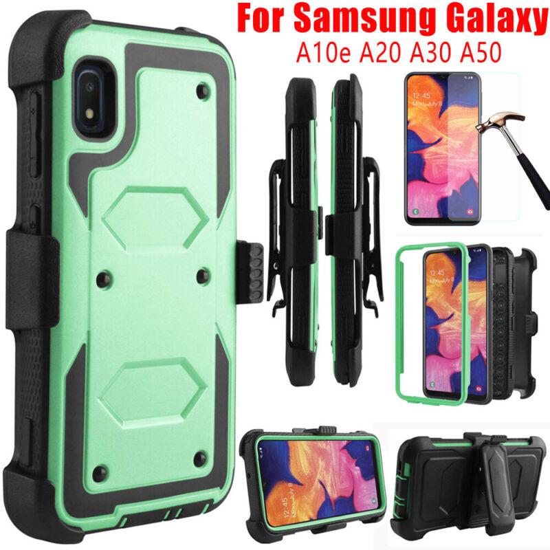 For Samsung Galaxy A10e A20 A50 Shockproof Rugged Case Armor