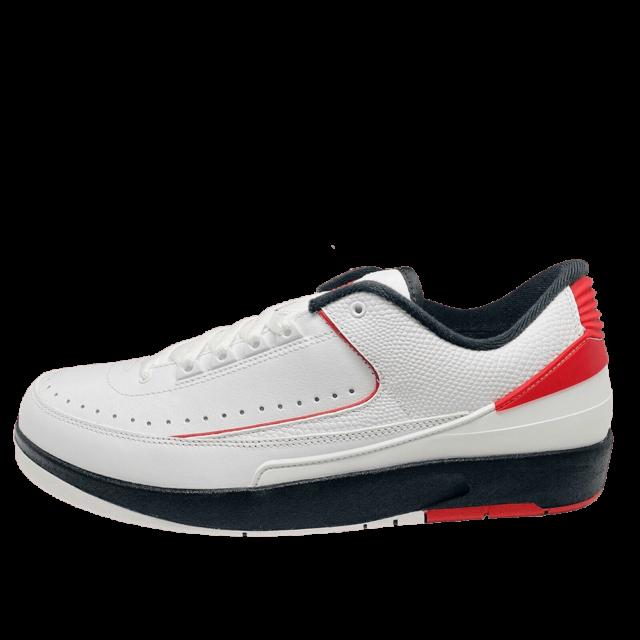 Jordan 2 White Red Sneaker