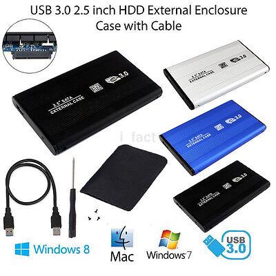 "USB3.0 SATA 2.5"" External Hard Drive HDD Mobile Disk Enclosure Case Portable new"