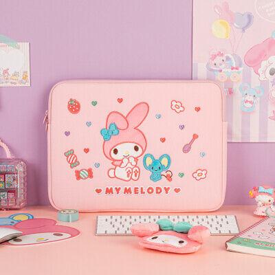 SANRIO My Melody 13inch Notebook Laptop Pouch Pink Heart Zipper Pocket Bag Case
