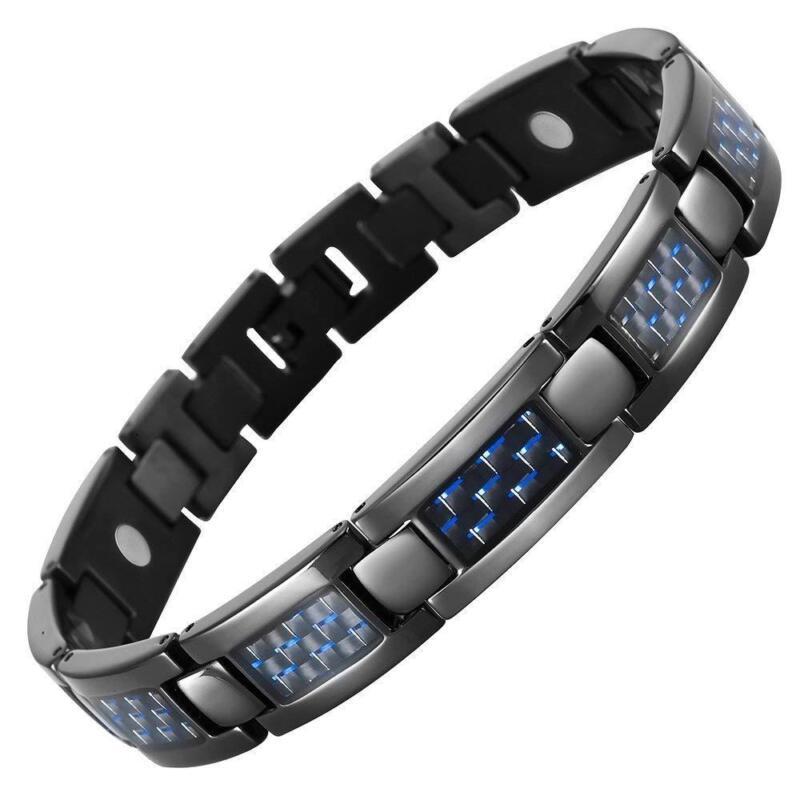 Titanium Magnetic Bracelet Valentine S Day Gifts For Him Men Boyfriend Ebay