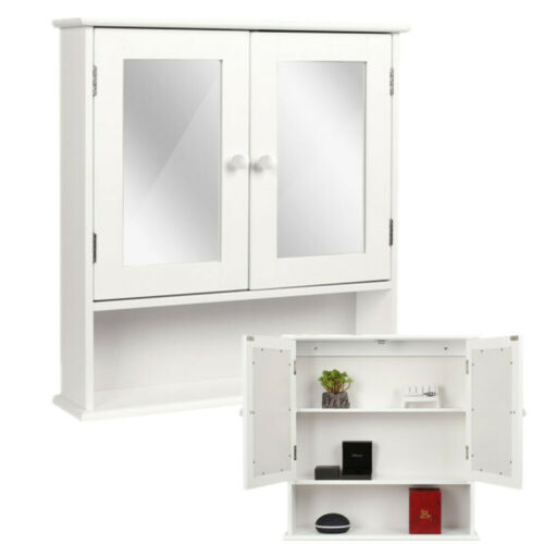 Wandschrank, Hängeschrank, Regal Bücher ,Badezimmer,Spiegelschrank Holz Weiß
