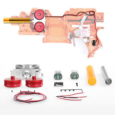 Worker MOD Motor Metal Flywheel Cage Strength Kit for Nerf Stryfe Modified Toy
