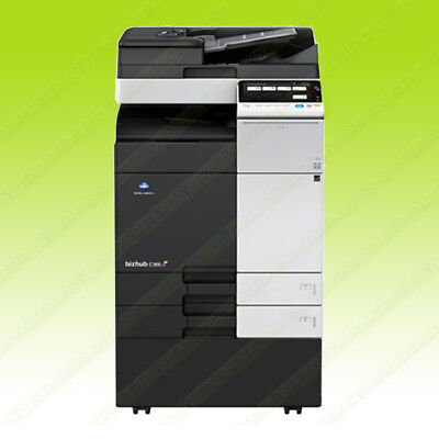 Konica Minolta Bizhub C368 Laser Color Bw Printer Scanner Copier 36ppm A3 Mfp