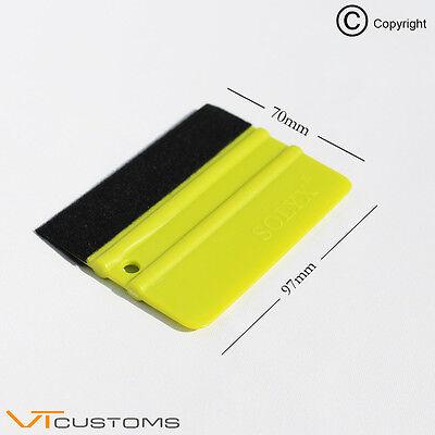 Pro Squeegee Application Tool Vinyl Car Wrap Wrapping Felt Edge Gf052014