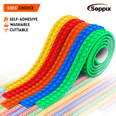 5 Rolls Building Block Tape, Compatible with DUPLO & Lego Bricks ..