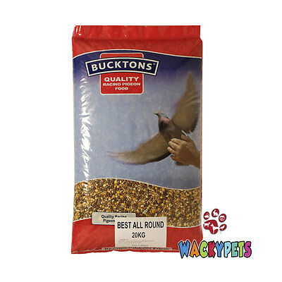 PIGEON FOOD FEED SEED Bucktons Best All Round 20kg (BUC147)