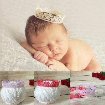 Baby Hairband Accessories Lace Crown Headband Photo Photography Props](Crown Prop)
