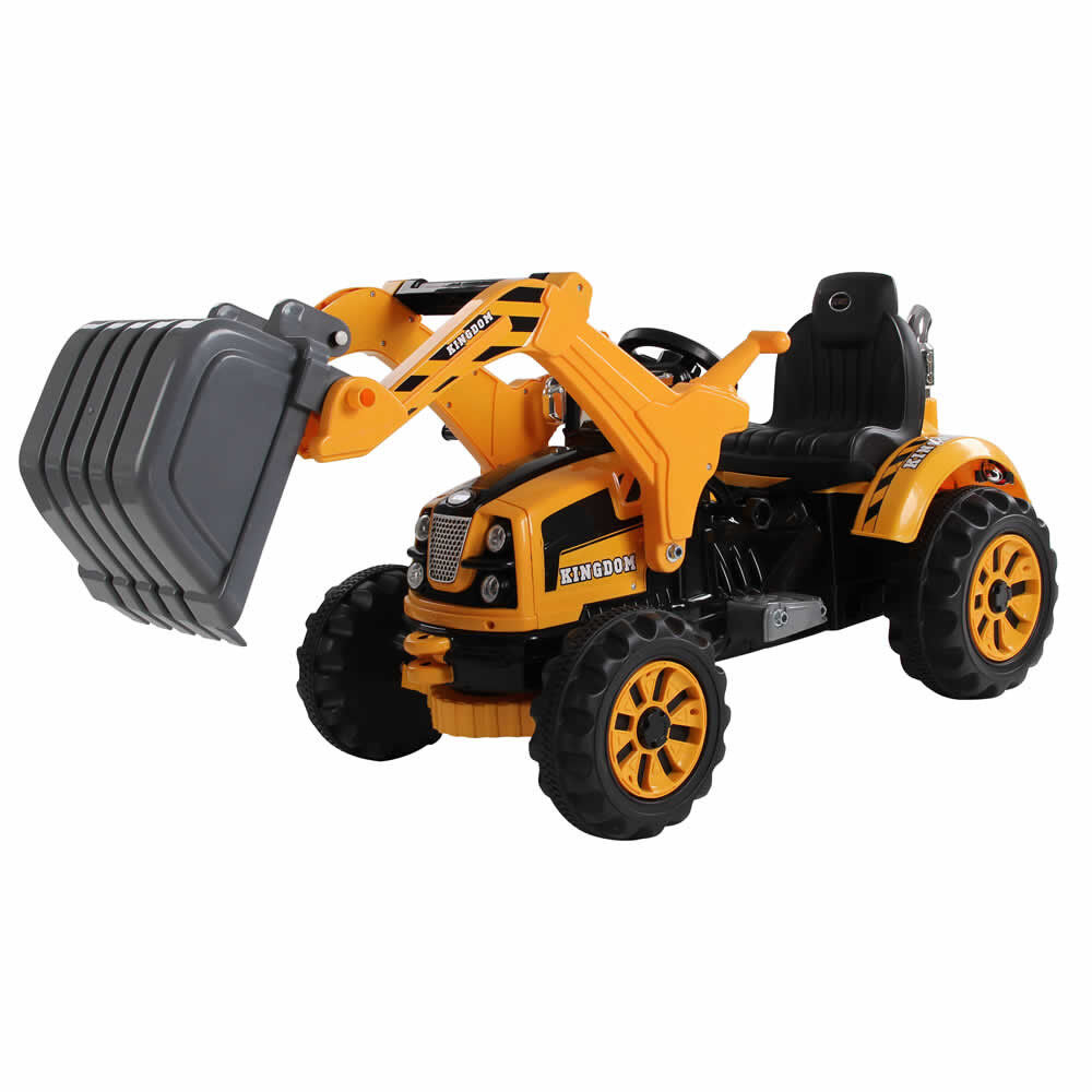 Kid electric tractor digger 12v