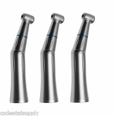 3 Dental Low Speed Handpiece Contra Angle Handpiece Inner Water Spray Fit Kavo