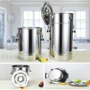 Stainless steel fermentation tanks - 25 - 35 - 55 - 75 - 105 - 140 - 175 litre sizes - FREE SHIPPING