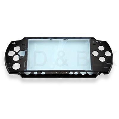 Psp Faceplates (For PSP 2000 / 2001 / 2002 Faceplate - Piano Black - ORIGINAL )