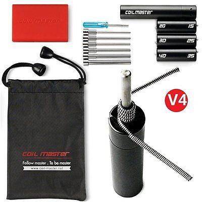 Coil Master V4 Kit - Wickelzubehör Wickelhilfe Coiling Werkzeug von Coilmaster