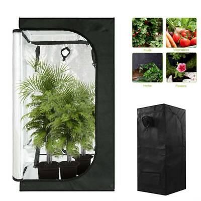 Portable Indoor Plant Grow Tent Green Room Hydroponic Bud Dark Room 60*60*140cm