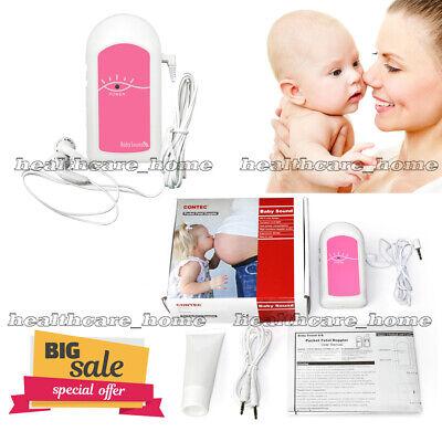 Ultrasound Lcd Prenatal Pocket Fetal Doppler Baby Heart Beat Monitor2mhz