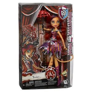 MONSTER HIGH FREAK DU CHIC TORALEI DAUGHTER OF A WERECAT DOLL BRAND NEW CHX99