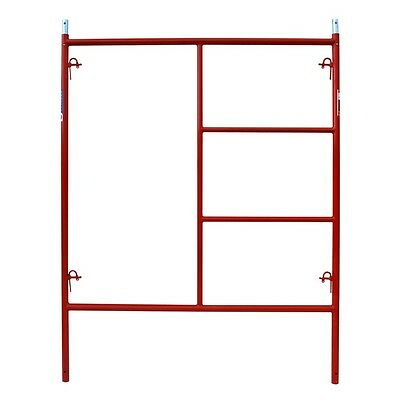 5 X 67 Steel Tube 1-58 Scaffolding Quality Red Frame Scaffold Heavy Duty