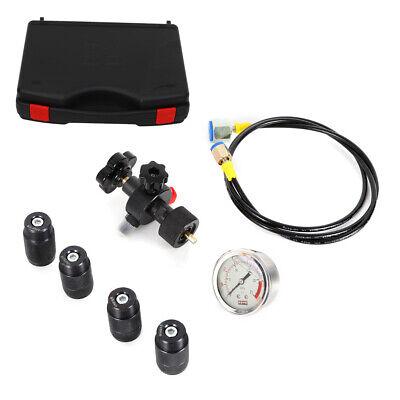 250bar Hydraulic Accumulator Nitrogen Charging Valve Hose Assembly Wcase