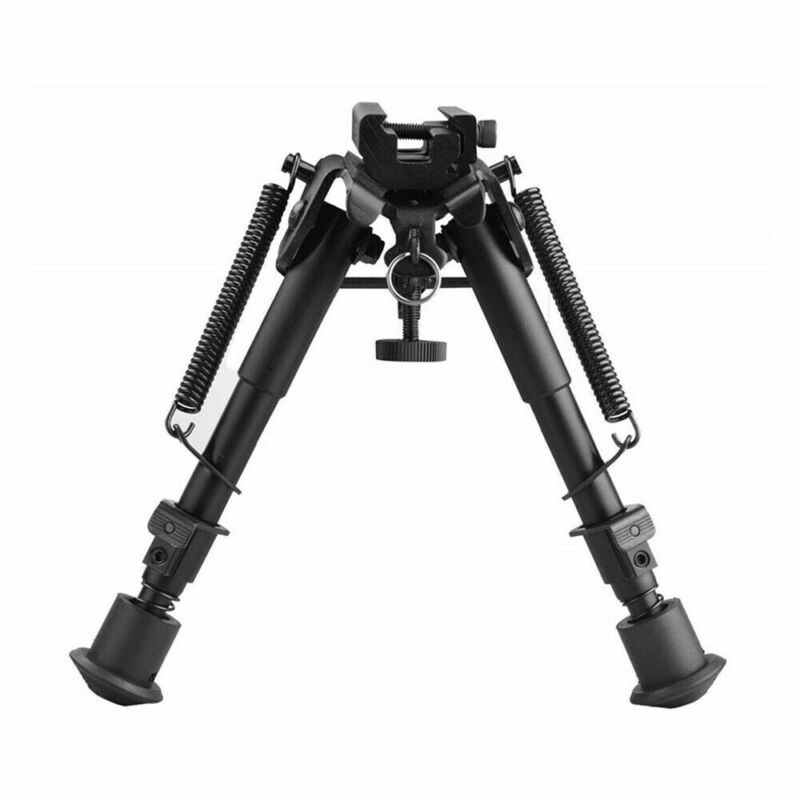 """6""""-9"""" Tactical Rifle Bipod Adjustable Spring Return with Adapter"""