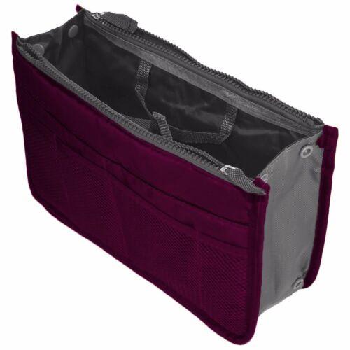 Women Insert Handbag Bag in Bag Purse Large liner Organizer